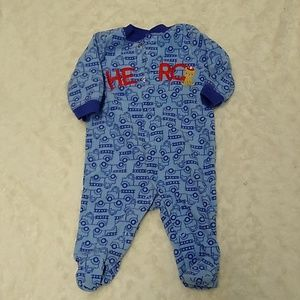 Fire Truck Pajamas -  0-3 Months - BUNDLES ONLY